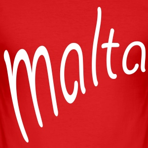 Malta T-Shirts - Männer Slim Fit T-Shirt
