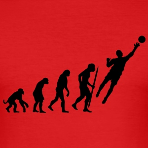 Evolution Torwart Fussball T-Shirts - Männer Slim Fit T-Shirt