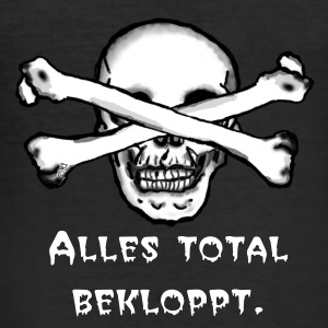 Total bekloppt T-Shirts - Männer Slim Fit T-Shirt
