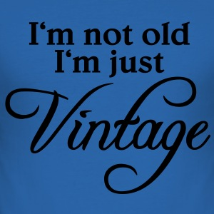 I'm not old, I'm just vintage T-shirts - Herre Slim Fit T-Shirt