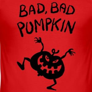 Bad, bad Pumpkin! - Men's Slim Fit T-Shirt