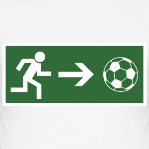 Fire Escape football  T-Shirts - Men's Slim Fit T-Shirt