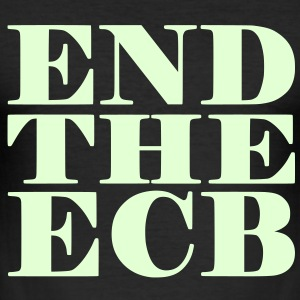 End the ECB T-Shirt - Männer Slim Fit T-Shirt