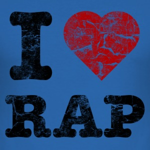 i_love_rap T-Shirts - Men's Slim Fit T-Shirt