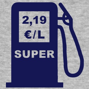 Petrol Pump fuel prices T-Shirts - Men's Slim Fit T-Shirt