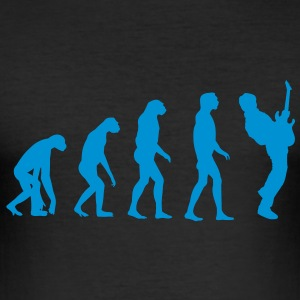 Guitar Player Evolution Camisetas - Camiseta ajustada hombre
