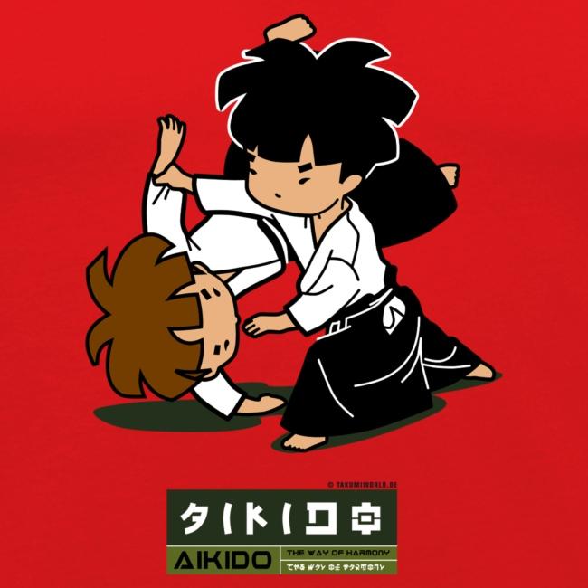 t-shirt aikido männer
