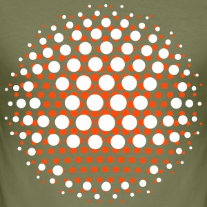 DISCO INFERNO SMILEY ;-) T-Shirts - Männer Slim Fit T-Shirt