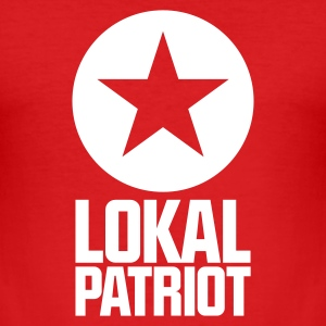 Lokalpatriot Stern T-Shirts - Männer Slim Fit T-Shirt