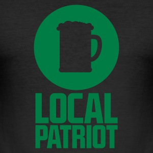 Local Patriot Beer T-Shirts - Männer Slim Fit T-Shirt