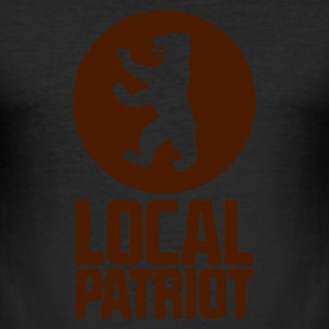 Local Patriot Berlin T-Shirts - Männer Slim Fit T-Shirt