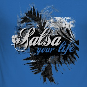 salsa your live | tanzshirts  T-Shirts - slim fit T-shirt