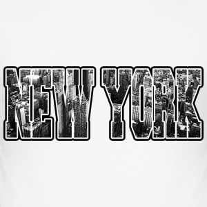 new york T-Shirts - Men's Slim Fit T-Shirt