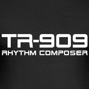 TR-909 Rhythm Composer T-shirts - slim fit T-shirt