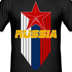 Russia  - Männer Slim Fit T-Shirt