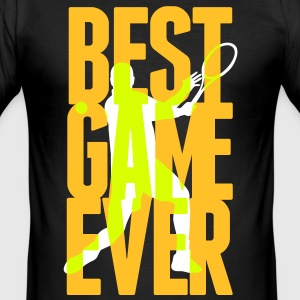 Best Game ever - Tennis T-Shirts - Men's Slim Fit T-Shirt