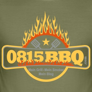 Slim 0815BBQ - Männer Slim Fit T-Shirt