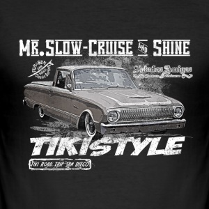 Mr. Cruise - Männer Slim Fit T-Shirt