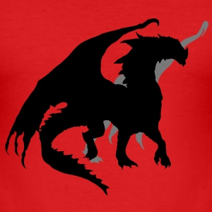 Dragon T-Shirts - Männer Slim Fit T-Shirt