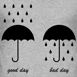 Tee-shirt Homme Good day, bad day - Tee shirt près du corps Homme