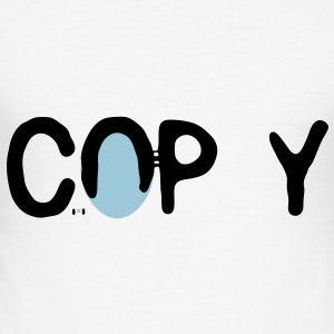 copy... - Männer Slim Fit T-Shirt