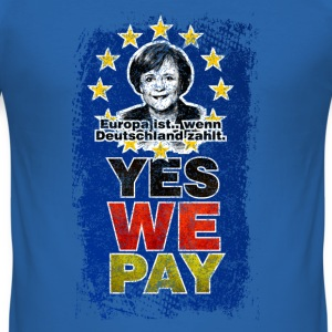 YES WE PAY ★ Grunge Style ★ Spiritspread T-Shirts - Männer Slim Fit T-Shirt