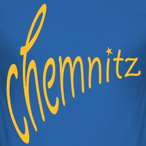 Chemnitz T-Shirts - Männer Slim Fit T-Shirt