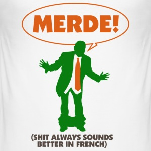 Merde (dd)++2013 T-Shirts - Men's Slim Fit T-Shirt