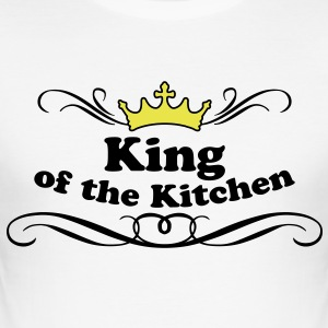 King of the Kitchen T-Shirts - Men's Slim Fit T-Shirt