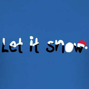 Let it snow Tee shirts - Tee shirt près du corps Homme