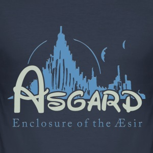 Asgard Enclosure of the Æsir T-Shirts - Men's Slim Fit T-Shirt