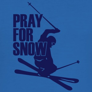 pray_for_snow_sw T-Shirts - Men's Slim Fit T-Shirt