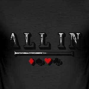 All In T-Shirts - Männer Slim Fit T-Shirt