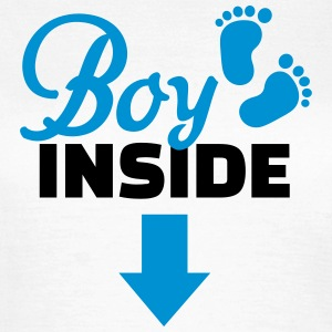 Boy inside T-Shirts - Frauen T-Shirt
