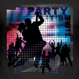 PartyTime | Tanzshirts T-Shirts - Slim Fit T-skjorte for menn