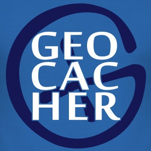 Geocacher T-Shirts - Männer Slim Fit T-Shirt