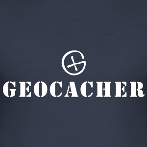 Geocacher (GEOCACHING) T-Shirts - Männer Slim Fit T-Shirt