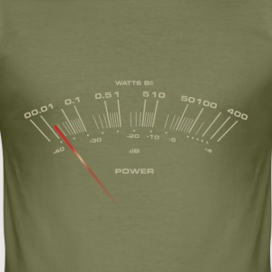 VU-Meter T-Shirts - Männer Slim Fit T-Shirt