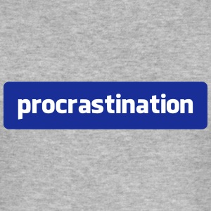 procrastination T-Shirts - Men's Slim Fit T-Shirt