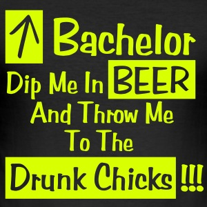 Bachelor - Dip me in beer T-shirts - slim fit T-shirt