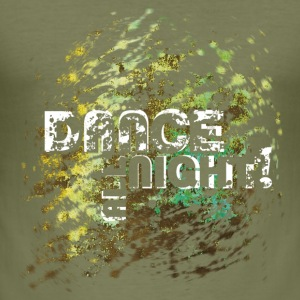 dance all night | Tanzshirts   T-Shirts - Tee shirt près du corps Homme