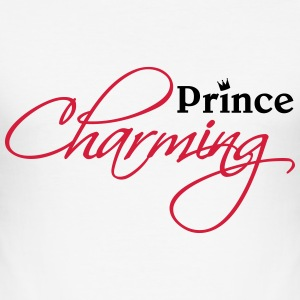 Prince Charming T-shirts - Herre Slim Fit T-Shirt