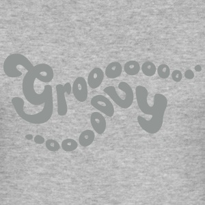 Groooooovy T-Shirts - Männer Slim Fit T-Shirt