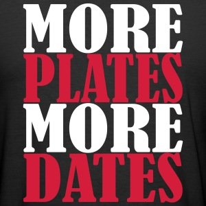More Plates More Dates T-Shirts - Männer Slim Fit T-Shirt
