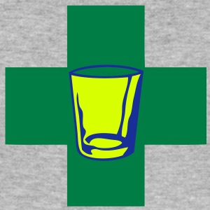 apero alcool medecine2 therapeutique Tee shirts - Tee shirt près du corps Homme