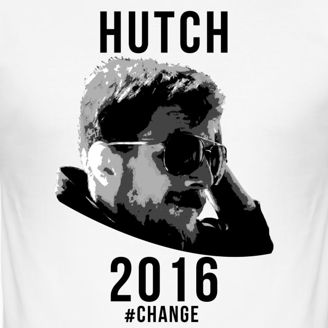 Hutch 2016 Slim Fit White Shirt