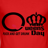 Ontwerp ~ Fuck and Get Drunk on Q-day