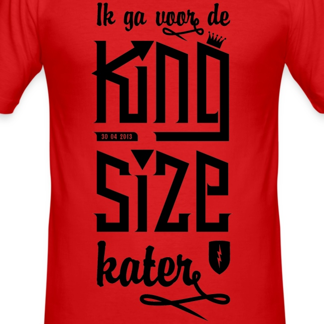 King size Kater