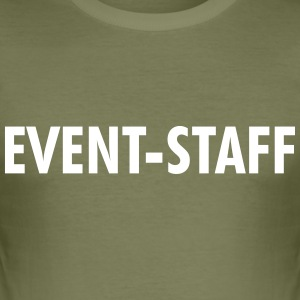 EVENT STAFF T-Shirts - Männer Slim Fit T-Shirt