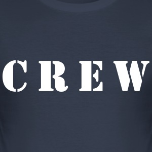 Crew T-Shirts - Männer Slim Fit T-Shirt